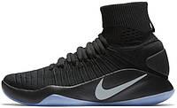 Мужские баскетбольные кроссовки Nike Hyperdunk 2016 Flyknit Oreo, найк, данк