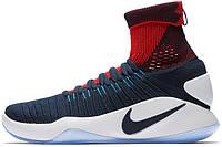Мужские баскетбольные кроссовки Nike Hyperdunk 2016 Flyknit USA, найк, данк