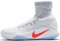 Мужские баскетбольные кроссовки Nike Hyperdunk 2016 Flyknit USA Light, найк, данк