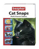 Cat Snaps витаминизированные лакомства с креветками, таурином и биотином Beaphar