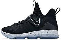 Мужские баскетбольные кроссовки Nike LeBron 14 Black Ice, найк