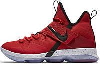 Мужские баскетбольные кроссовки Nike LeBron 14 University Red, найк