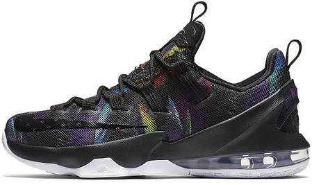 Мужские баскетбольные кроссовки Nike LeBron 13 Low Birds of Paradise, фото 2 2d3b3c881cd