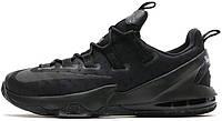 Мужские баскетбольные кроссовки Nike LeBron 13 Low Triple Black, найк