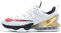 Мужские баскетбольные кроссовки Nike LeBron 13 Low Olympic, найк