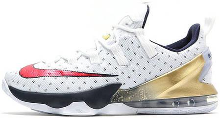 Мужские баскетбольные кроссовки Nike LeBron 13 Low Olympic купить в ... 892f79fc937