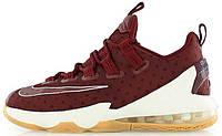 Мужские баскетбольные кроссовки Nike LeBron 13 Low Team Red, найк