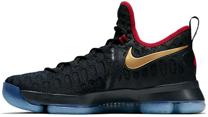 Мужские кроссовки Nike KD 9 Gold Medal 843396-470,  Найк КД