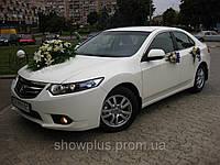 Honda Accord белое авто для свадьбы