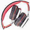 Универсальная гарнитура INGEL IP878 черно-красная для смартфона компьютера с съемным кабелем микрофоном, фото 2