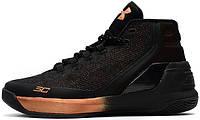 Мужские баскетбольные кроссовки Under Armour UA Curry 3 Black Copper