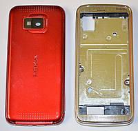 Корпус для Nokia 5530 красный c клавиатурой class AAA