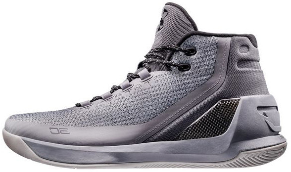 Мужские кроссовки Under Armour 3 Grey Matter Steel Aluminum Black 1269279-035,  Андер Армор 3