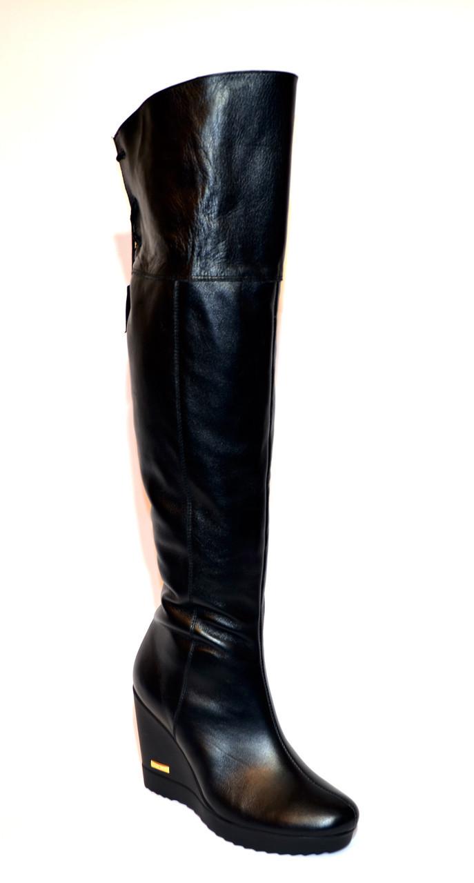 """Ботфорты зимние кожаные от производителя ТМ """"Maestro"""""""