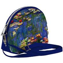 Стильная маленькая женская сумка с ручкой принт Весенняя пора