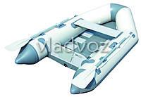 Лодка надувная с веслами двухместная Caspian 65046