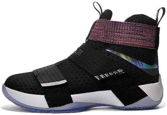 7a2d1a63 Мужские баскетбольные кроссовки Nike LeBron Soldier 10 EP Inidecent Swoosh  - Интернет-магазин обуви и