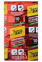 Super Bat пластины от комаров с двойным эффектом красные