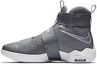 Мужские баскетбольные кроссовки Nike LeBron Soldier 10 Cool Grey, найк
