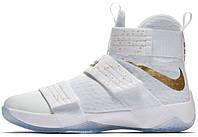 Мужские баскетбольные кроссовки Nike LeBron Soldier 10 USA Gold, найк