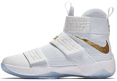Мужские кроссовки Nike LeBron Zoom Soldier 10 Gold Medal 883333-174, Найк Леброн