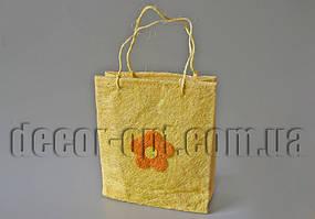Сизалевая сумочка 20х23х7см