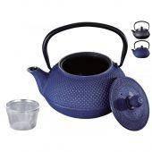 Чугунный заварочный чайник с фильтром Peterhof PH-15623 - 800 мл