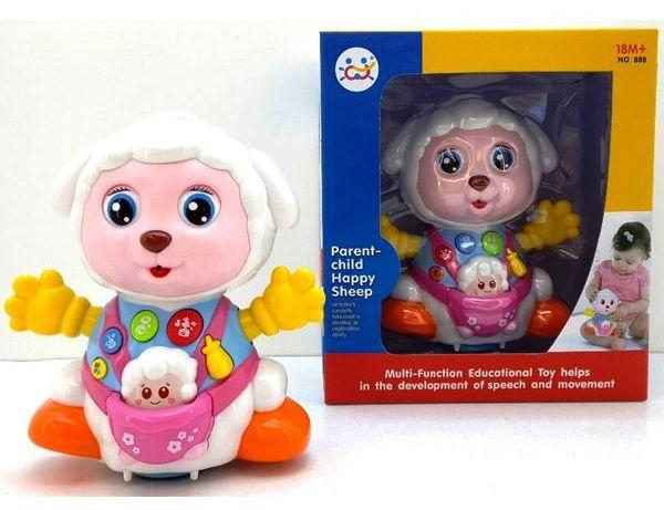 Музыкальная игрушка Счастливая овечка 888
