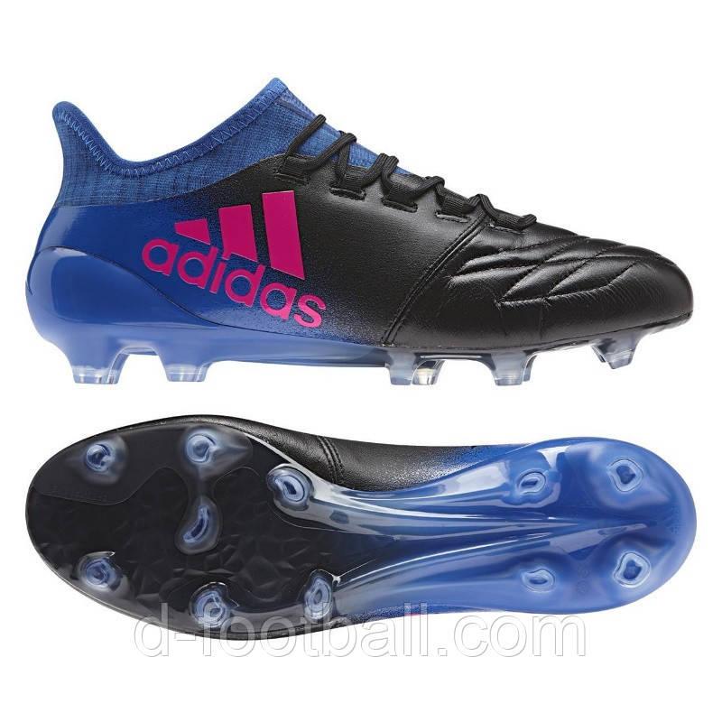 Futbolnye Butsy Adidas X 16 1 Lth Fg Bb5623 Kupit Cena V Internet