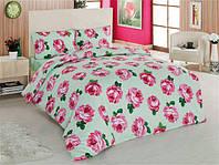 Комплект двуспального постельного белья Le Vele Pink Rose-7536 (Пинк Роус-7536)