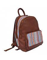 Рюкзак молодежный 2U Super ethno орнамент/коричневый 2U-4116