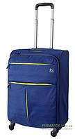 Дорожный чемодан из полиэстера на 4-х колесах (малый) Roncato Modo Air 5323 синего цвета