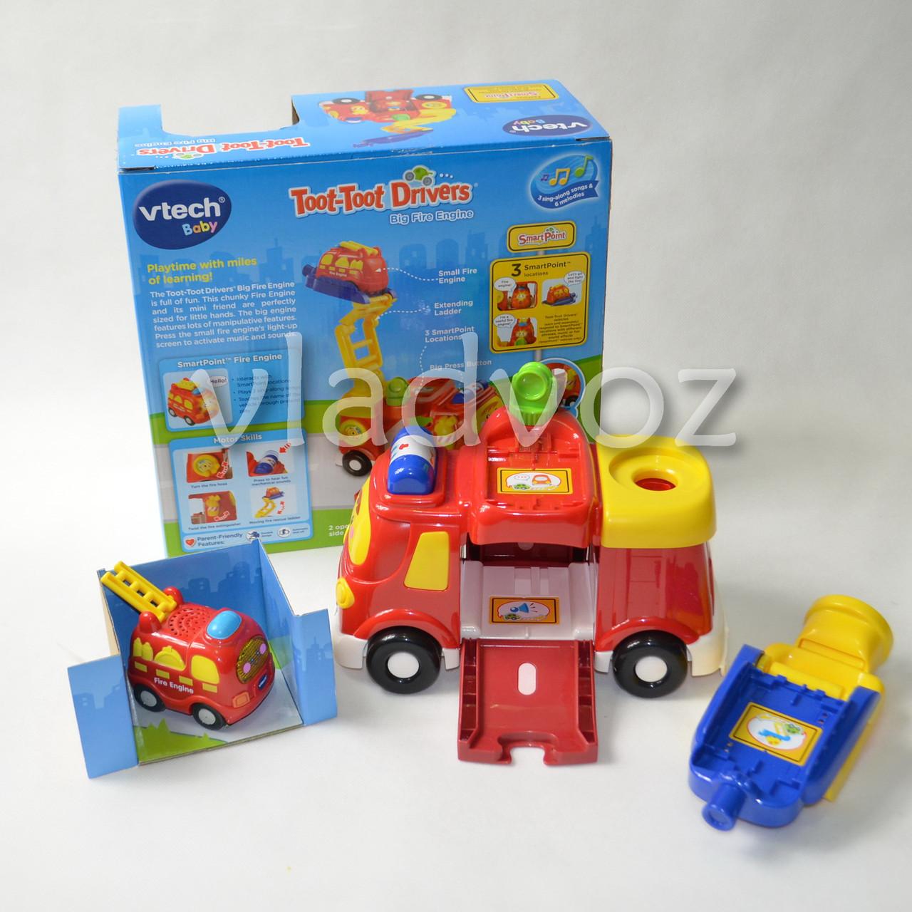 Детская пожарная машина Vtech - интернет-магазин vladvozsklad мтс 0666993749, киевстар 0681044912, лайф 0932504050 в Николаевской области