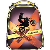 Рюкзак школьный KITE Cross race 531-3 каркасный (1-4 класс)