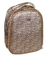 Рюкзак школьный каркасный FANTASY World 31х13,5х40 см, золото