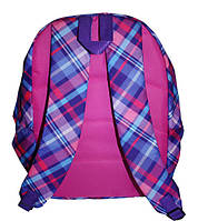Рюкзак школьный FANTASY World 30х13,5х42 см, шотландка