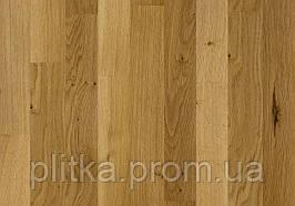 Паркет Дуб LODOS 3-х полосний Легкий браш світло-коричневий лак 2266х188х14 3,41 м2