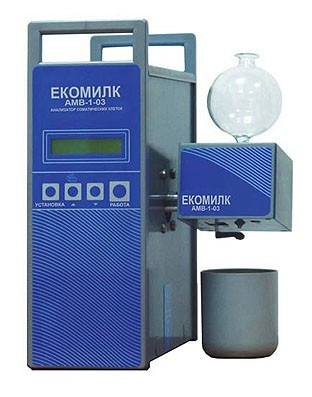 Анализатор соматических клеток в молоке Екомилк АМВ-1-03