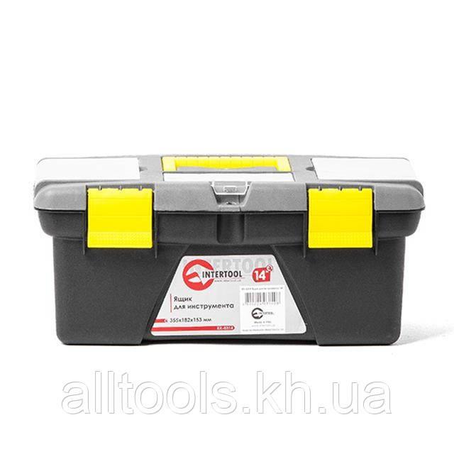 """Ящик для инструмента 14"""" 355*182*153мм INTERTOOL BX-0314"""