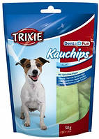 2682 Trixie Denta Fun Chips лакомство для чистки зубов, 100 гр