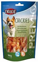 31591 Trixie Premio Chickies лакомство с курицей и кальцием, 100 гр