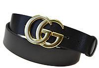Стильный ремень кожаный Gucci