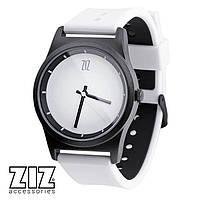 Часы наручные 6 секунд White белый силиконовый ремешок