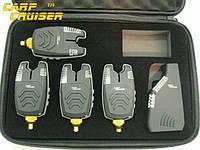 Набор Сигнализаторов Поклевки CarpCRUISER  FA210-4 (4+1) - УЦЕНКА, с беспроводным радио пейджером