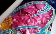 """Латексные шарики Металлик розовые 10"""" (25 см), 100 шт. ТМ Gemar"""