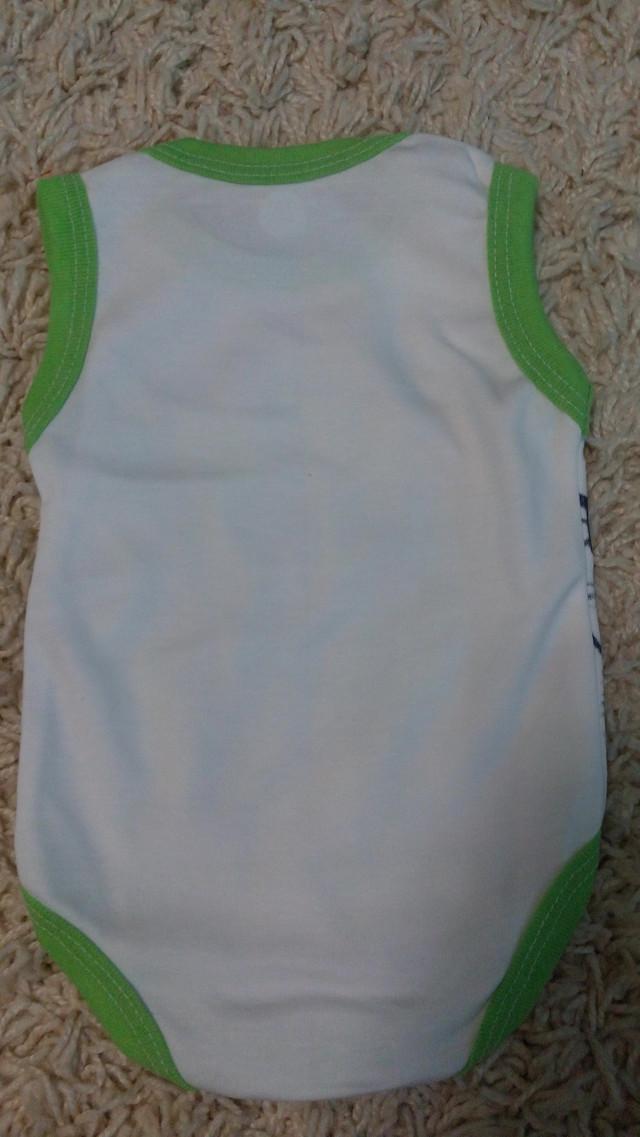 Боди-майка Anchor green 62, 68, 74, 80, 92 см