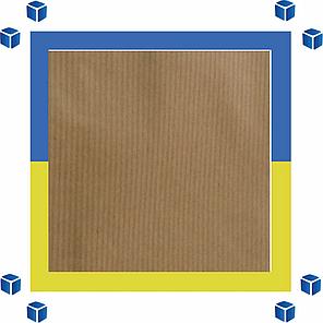 Крафтовый пакет с витыми ручками 500х180х390мм, фото 2