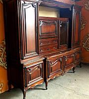 Мебельная горка. Мебельная стенка. Сервант-витрина.Сервант-буфет.  Италия.