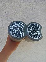 Пластиковый светящийся бордюр, для оформления клумб, светящийся в темноте Черный (302)
