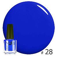 Декоративный лак NUB KING BLUE 28